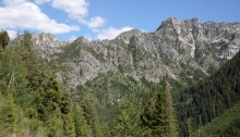 Upper Lick Creek Valley, Idaho