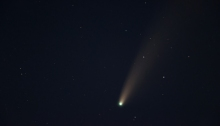 Comet Neowise, July 17, 2020, from the Western Snake River Plain