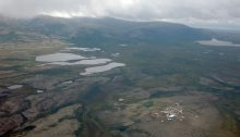 Pebble Mine Aerial Photo (Bill Roth / ADN archive 2013)